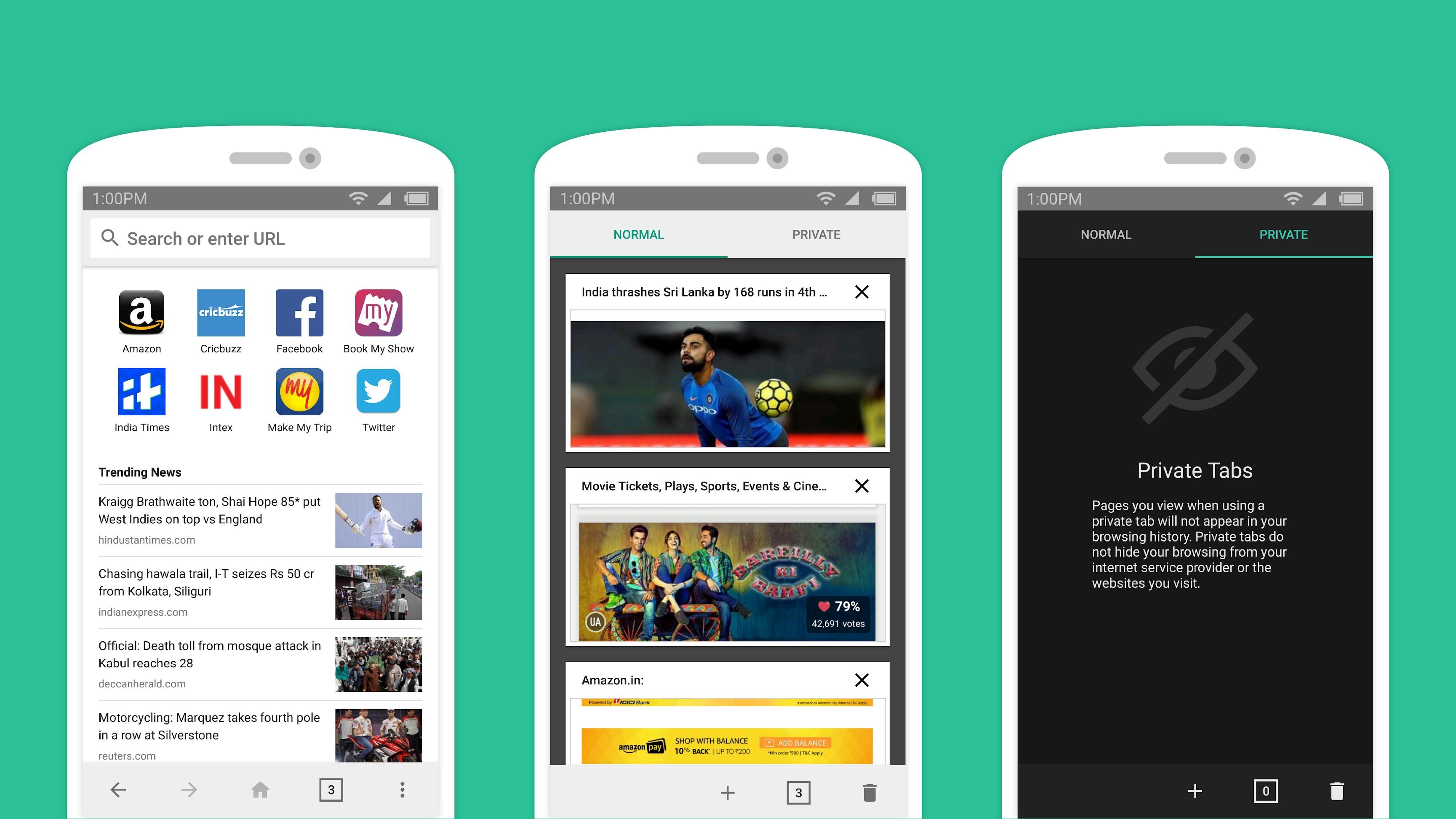 Amazon разработала свой браузер для Android