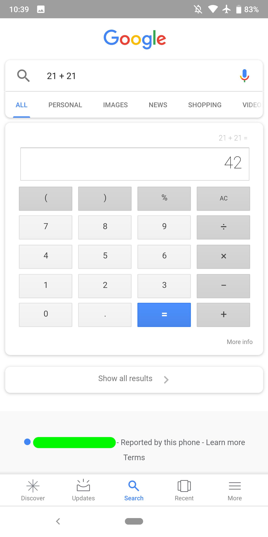 Google отвечает на часть вопросов, не загружая результаты поиска3