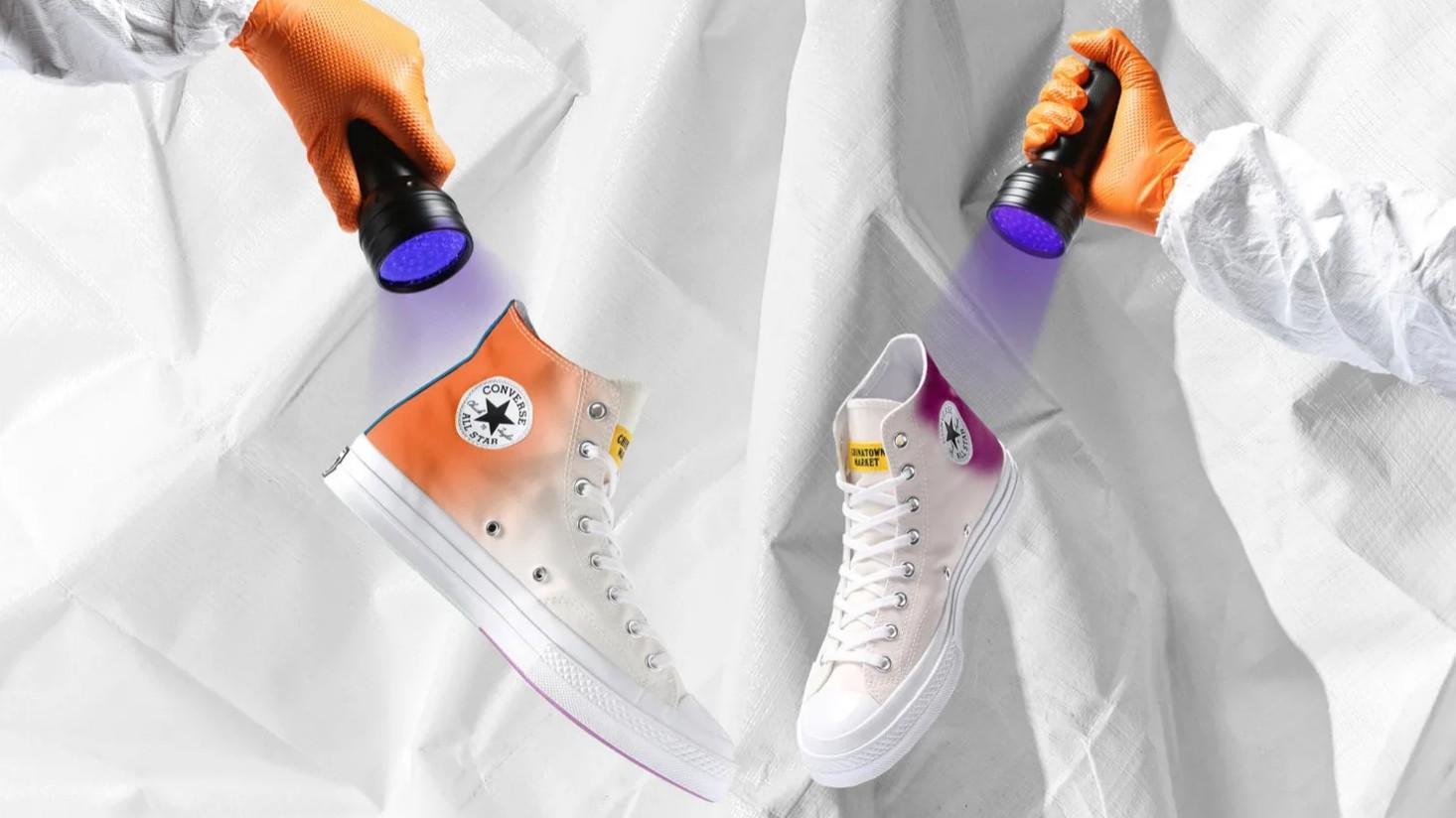 Converse выпустила кеды, меняющие на солнце цвет
