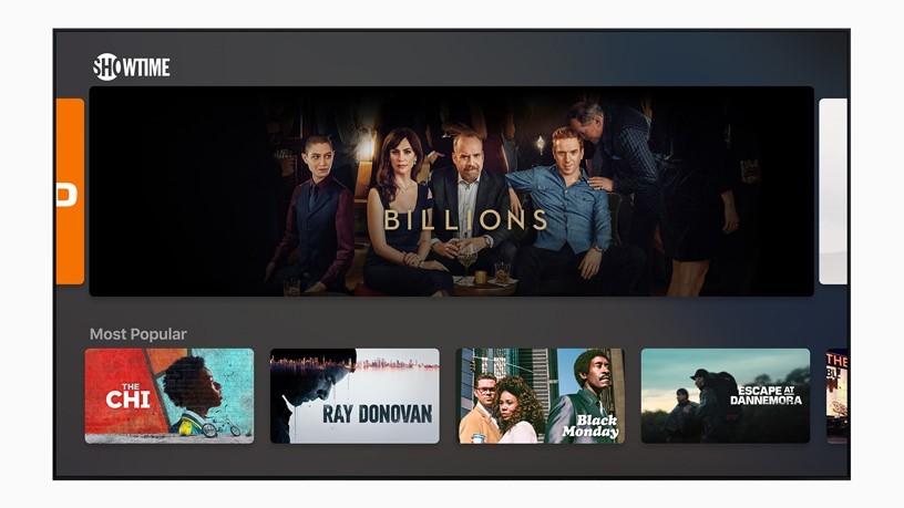 Новое приложение Apple TV и подписка на контент телеканалов TV Channels