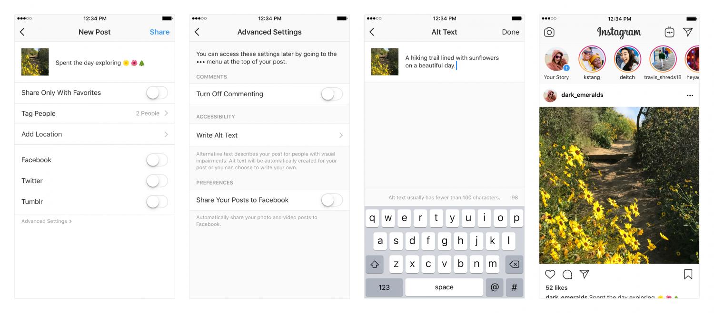 Instagram научился пересказывать фото слабовидящим пользователям1