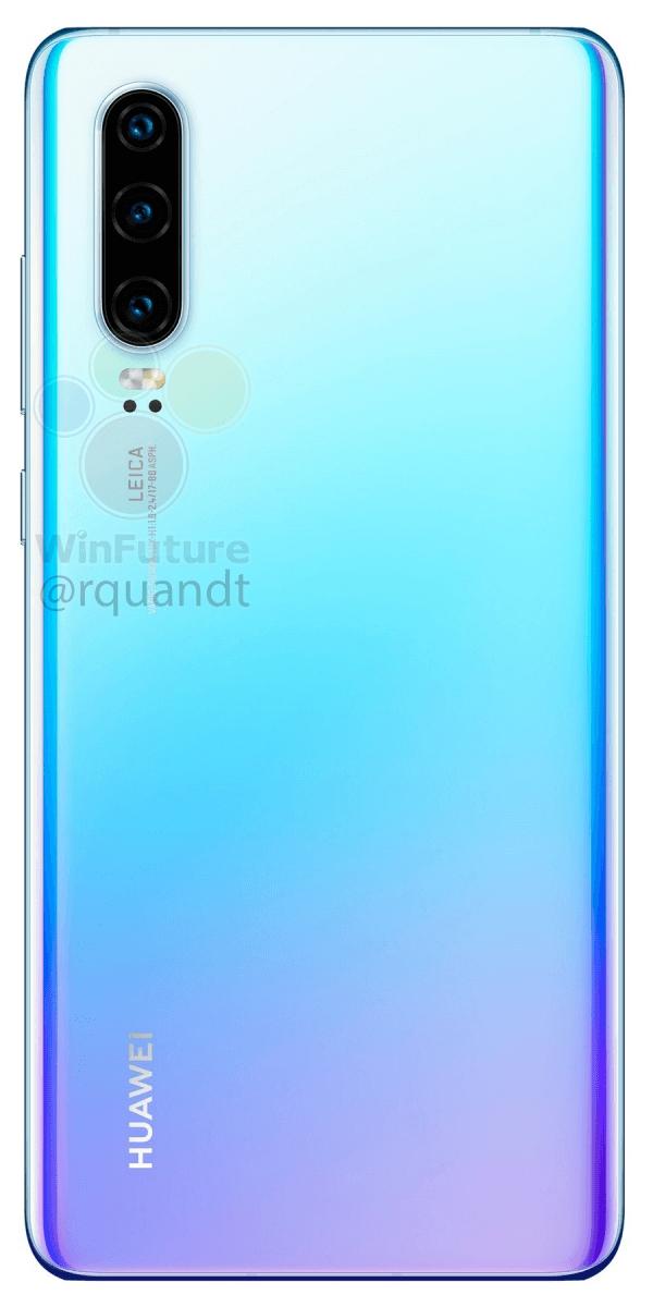 Полные характеристики Huawei P30 и P30 Pro до анонса2
