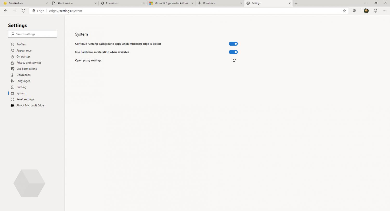 Первый взгляд на Microsoft Edge на основе Chromium13