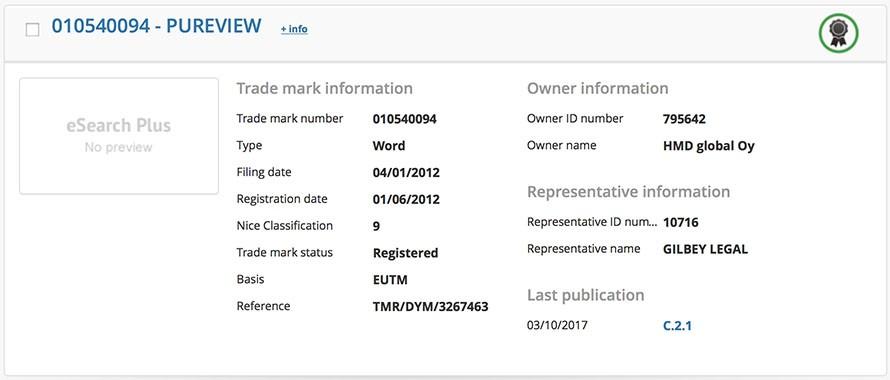Nokia вернула свои права на торговую марку PureView1