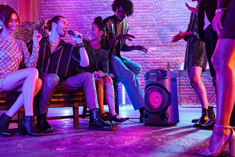 Sony представила четыре моноблочные аудиосистемы для вечеринок5