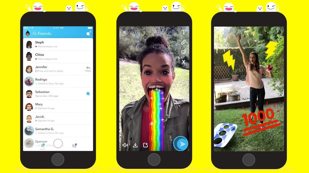 Американская модель сократила стоимость Snapchat на 1,3 млрд долларов
