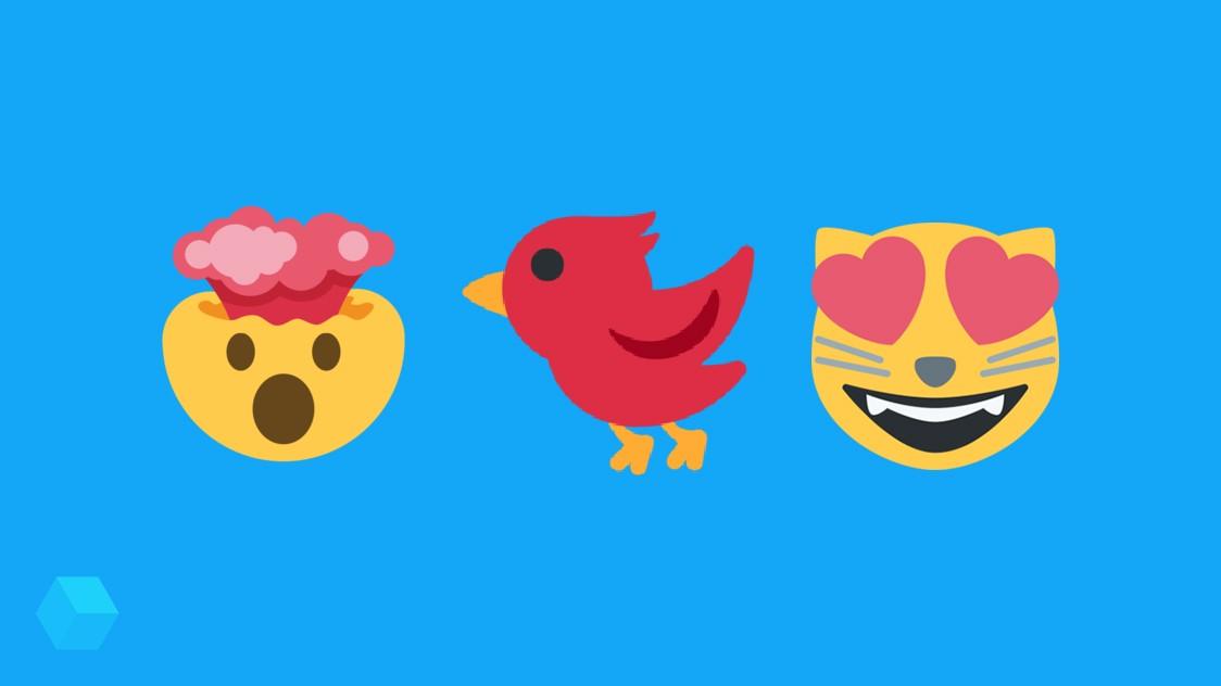 Twitter использует свои эмодзи ради старых версий Android