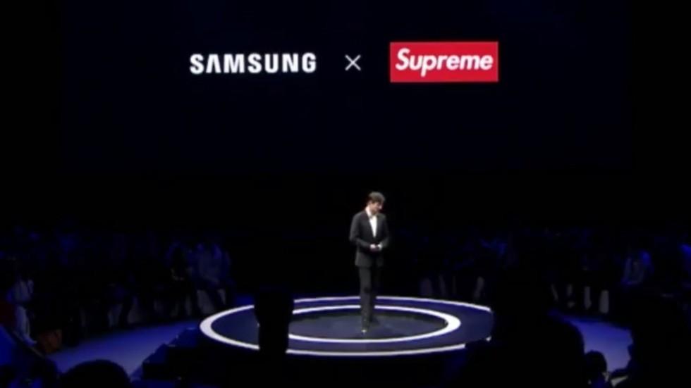 Samsung заключила соглашение с фейковым брендом Supreme