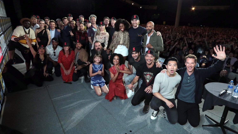 Фото с презентации Marvel в рамках Comic-Con