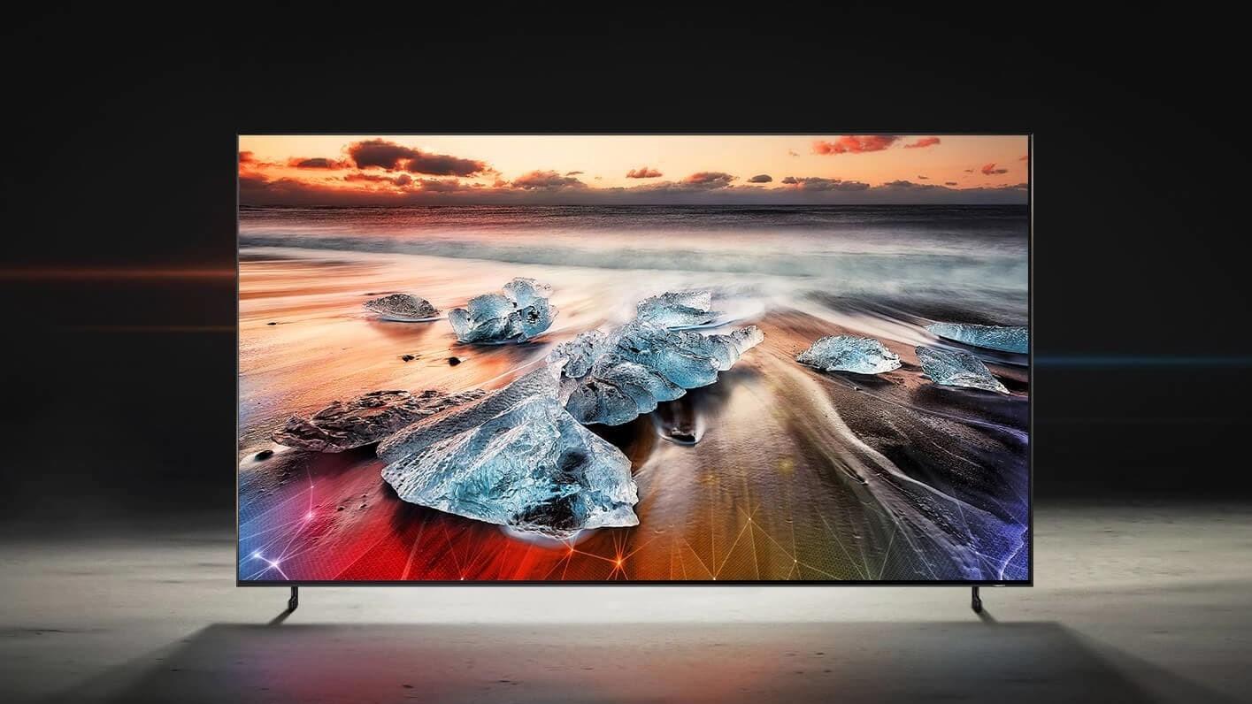 Samsung начинает продажи самого большого QLED-телевизора в России