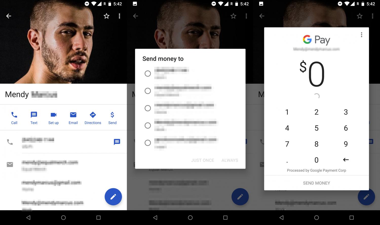 В «Контактах» от Google появятся денежные переводы1
