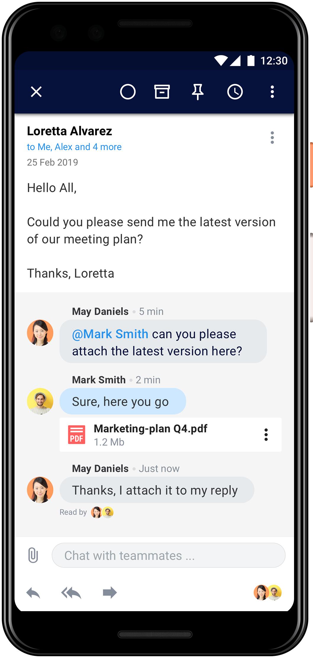 Популярный Email-клиент Spark вышел для Android4