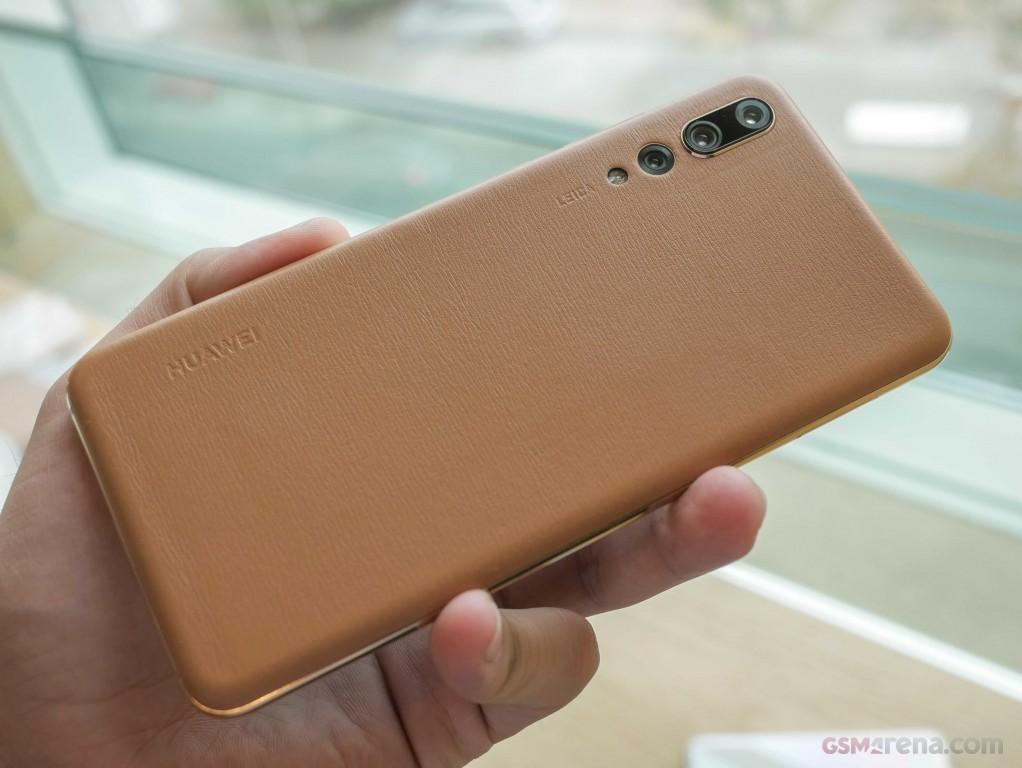 Четыре новые расцветки для Huawei P20 Pro2