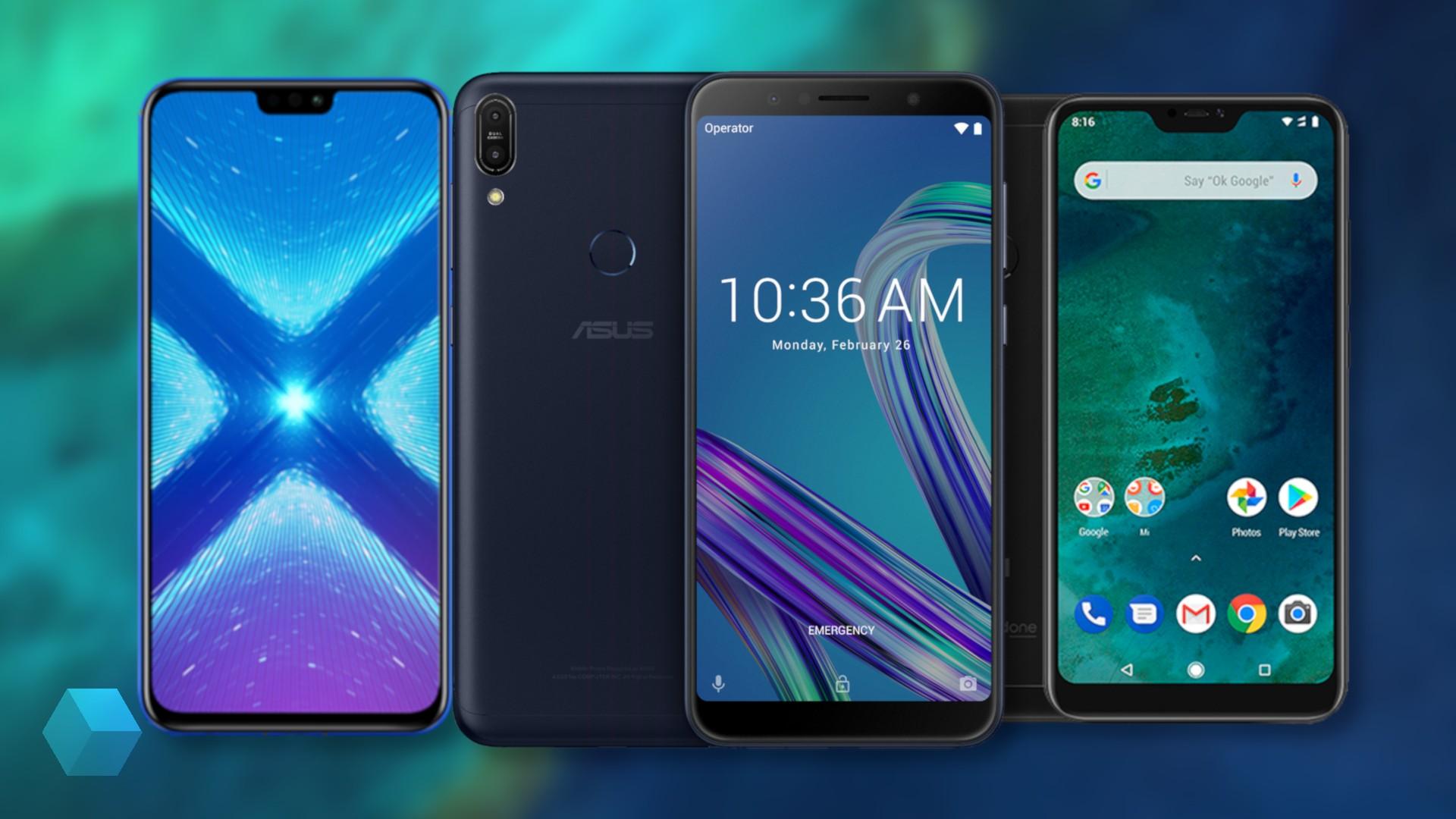 Шесть лучших смартфонов до 20 тысяч рублей