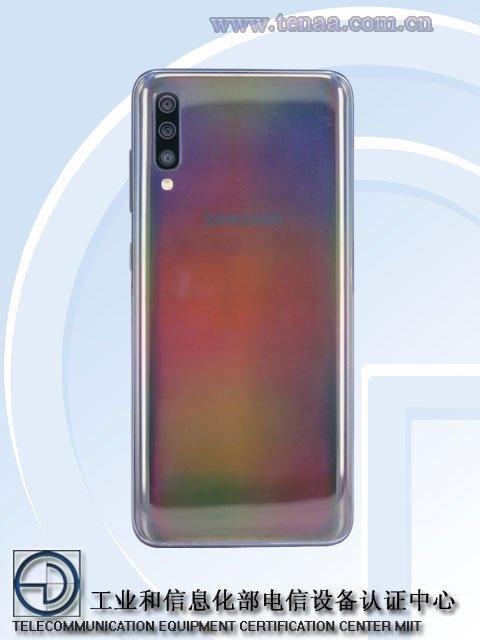 Рендеры и подробности о Samsung Galaxy A60 и A702