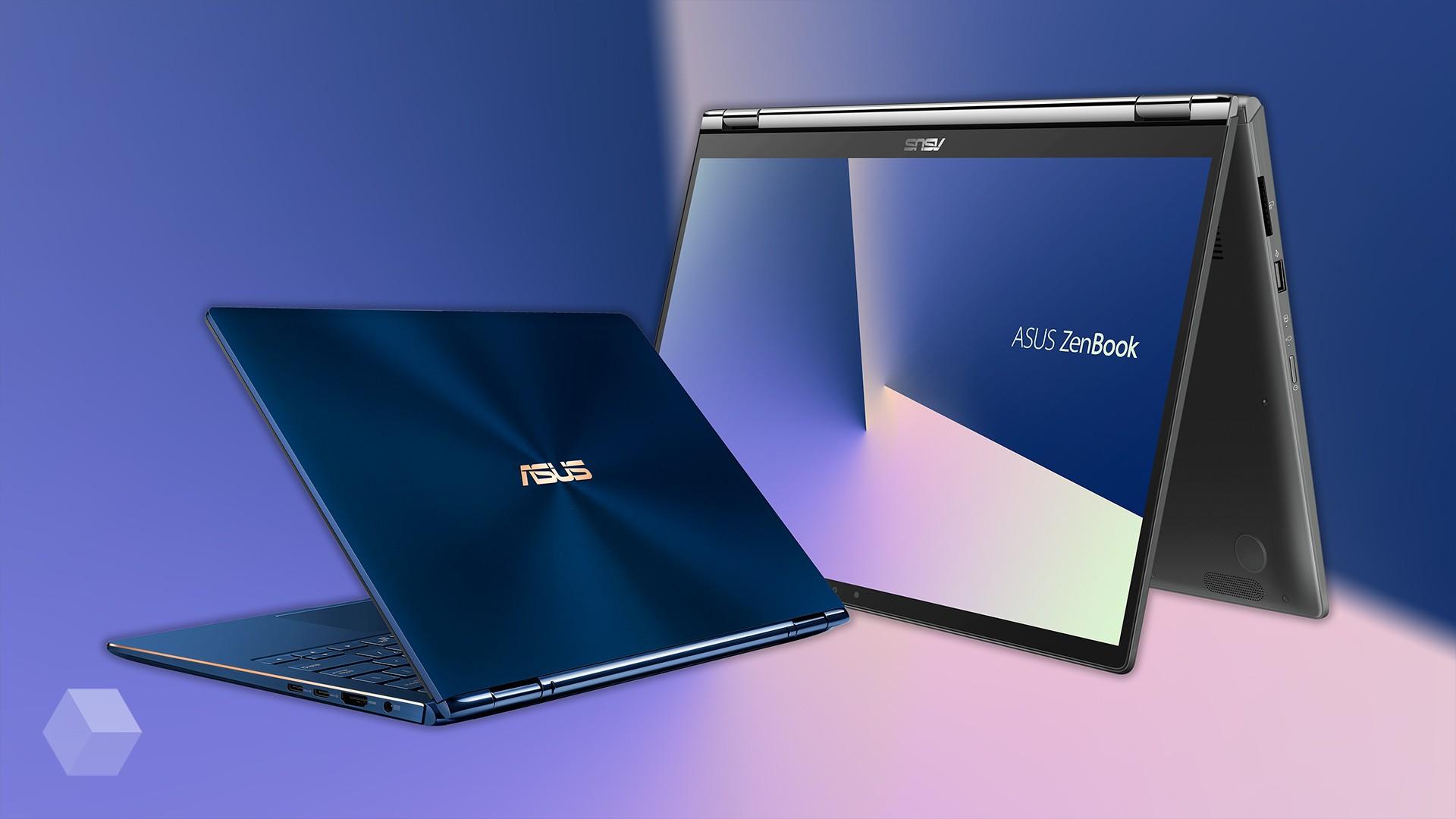 Новые ZenBook Flip: модернизированный тачпад и AR
