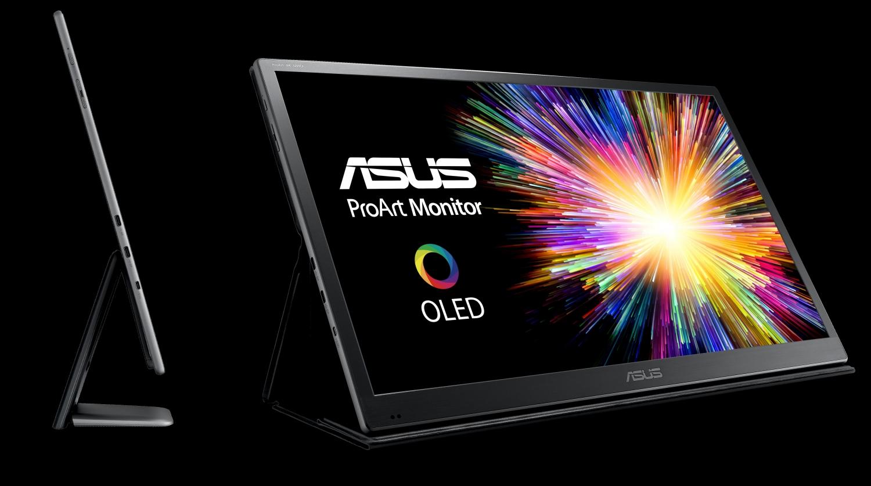 ASUS ProArt PQ22UC: первый в мире 21,6-дюймовый монитор с матрицей OLED1