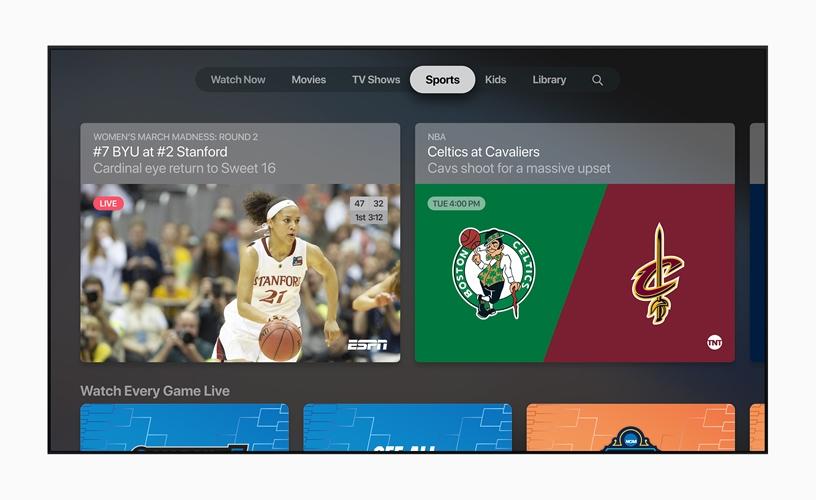 Новое приложение Apple TV и подписка на контент телеканалов TV Channels2