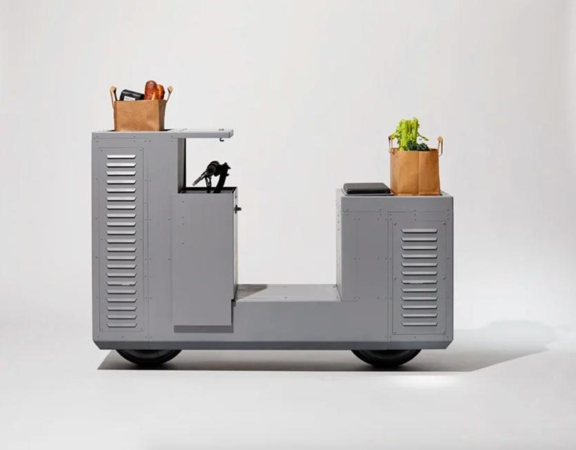 Студия J.Ruiter сделала электробайк в виде трансформаторной будки с граффити2
