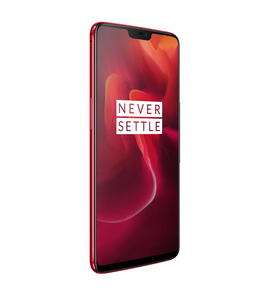 OnePlus выпустила OnePlus 6 в красном цвете1