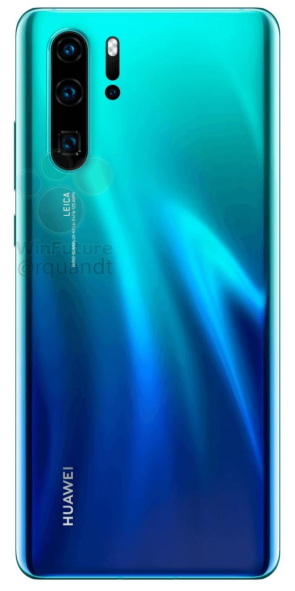 Полные характеристики Huawei P30 и P30 Pro до анонса10