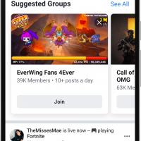 Facebook получит новый дизайн в стиле минимализ6