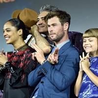 Фото с презентации Marvel в рамках Comic-Con23