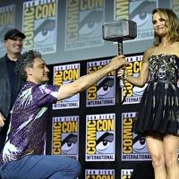 Фото с презентации Marvel в рамках Comic-Con25