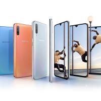 Samsung представила Galaxy A80 с поворотной камерой и A70 с дисплеем Infinity-U4
