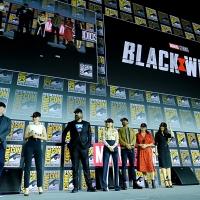 Фото с презентации Marvel в рамках Comic-Con15