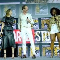 Фото с презентации Marvel в рамках Comic-Con13