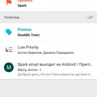 Spark для Android: достойная замена Google Inbox?2