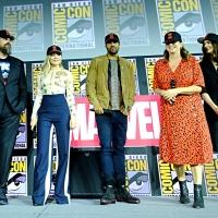 Фото с презентации Marvel в рамках Comic-Con21