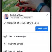 Facebook получит новый дизайн в стиле минимализ8