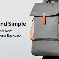 Рюкзак OnePlus Explorer Backpack сшит из нейлоновой ткани1