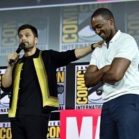 Фото с презентации Marvel в рамках Comic-Con18