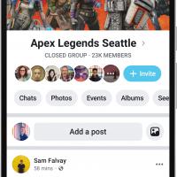 Facebook получит новый дизайн в стиле минимализ9