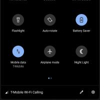 Как активировать скрытую тёмную тему в Android Q1