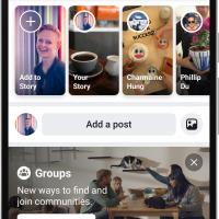 Facebook получит новый дизайн в стиле минимализ24