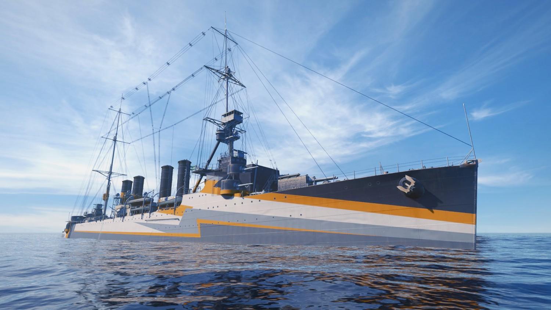 World of Warships получит ранний доступ для владельцев PS4
