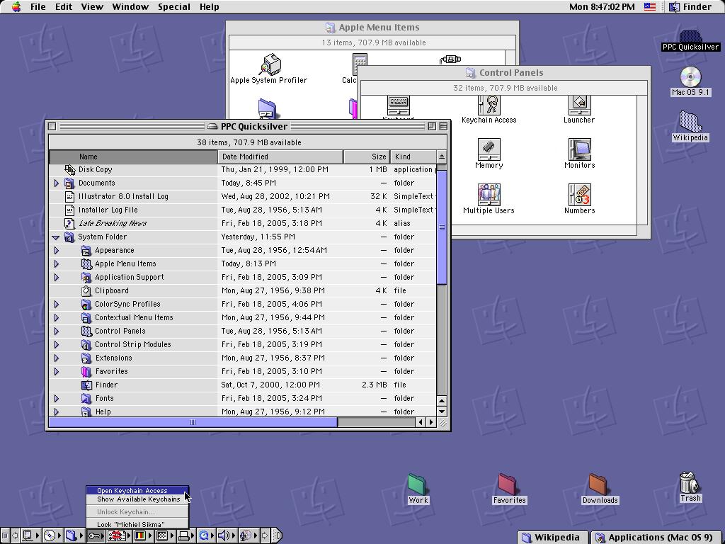 История развития и стандартные обои со всех версий macOS7