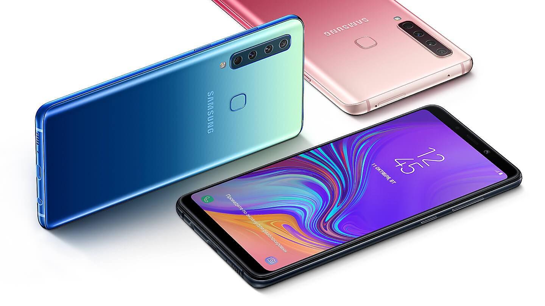 В России начались продажи Galaxy A9 (2018)1