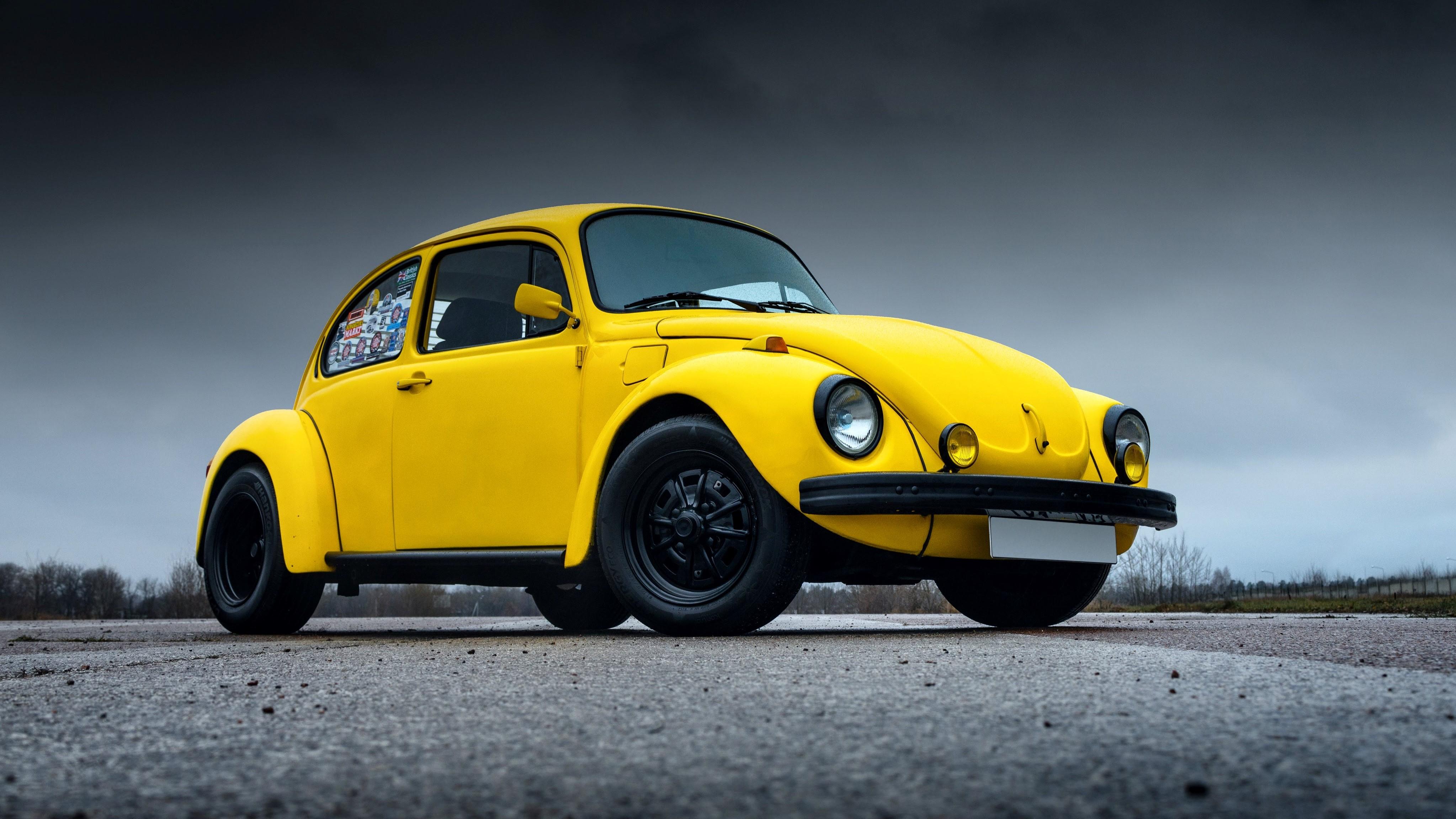 Volkswagen Beetle в образе Бамблби появился в каталоге «Авто.ру»