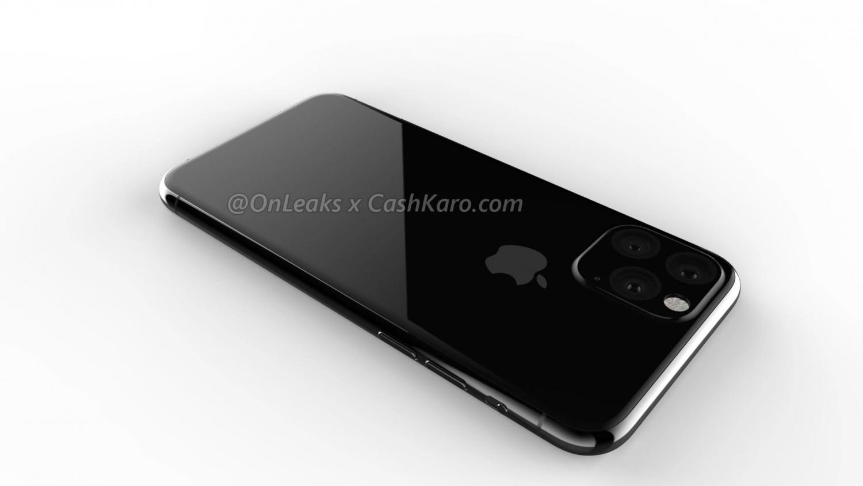 Рендеры iPhone 2019 года с камерой в форме треугольника9
