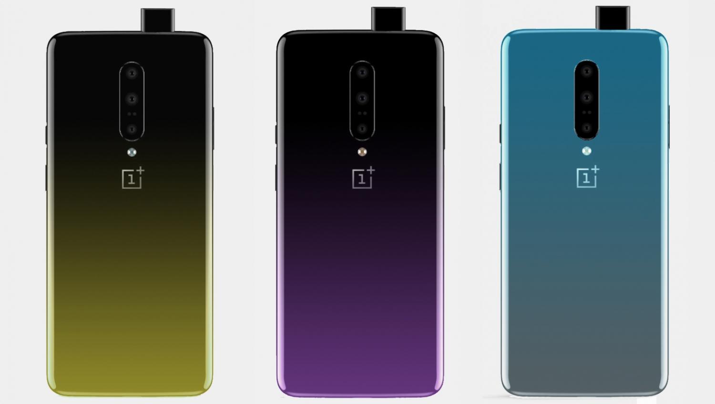 OnePlus 7 получит градиентную окраску1
