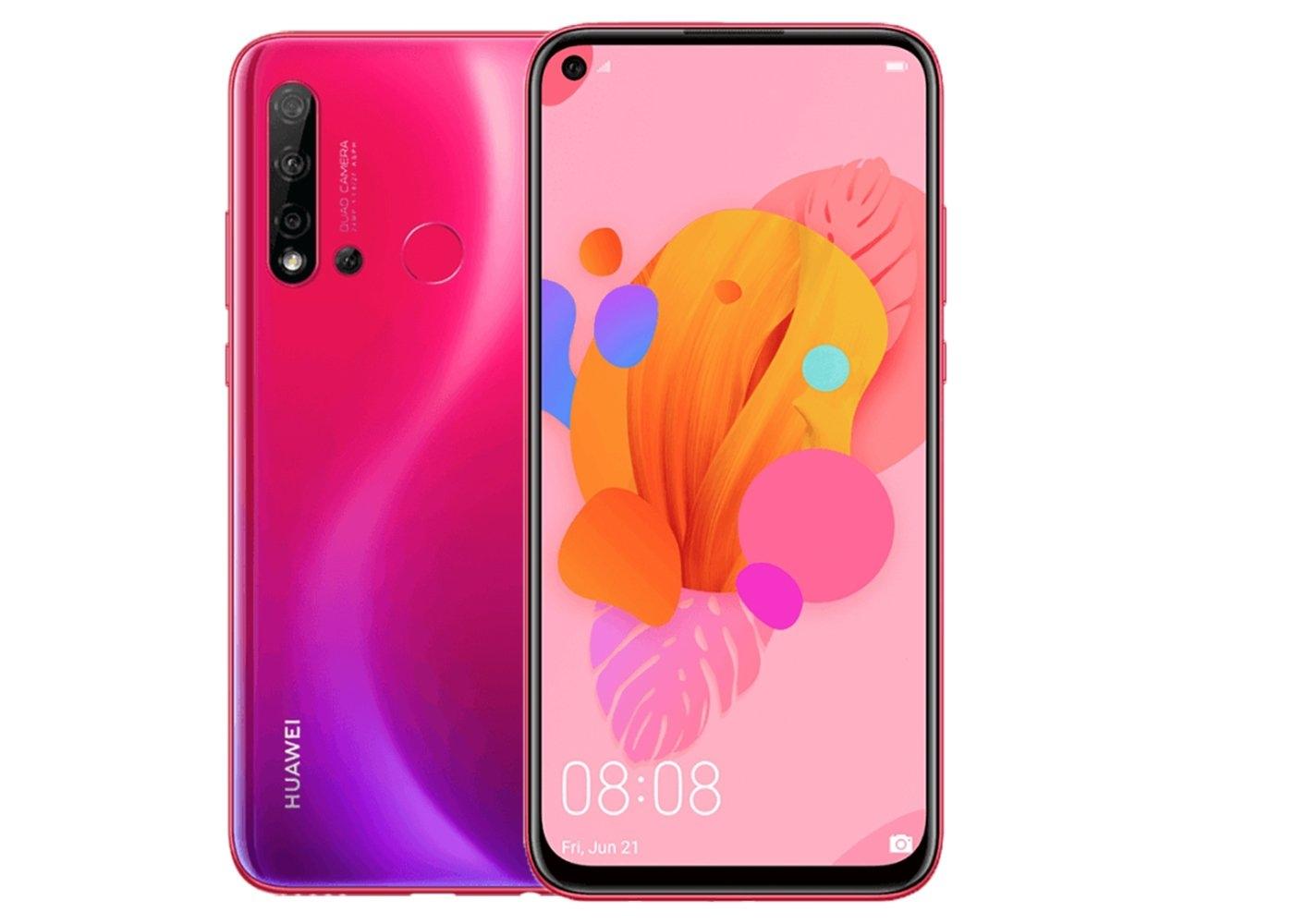 Официальные рендеры Huawei P20 Lite 2019 с отверстием в дисплее2