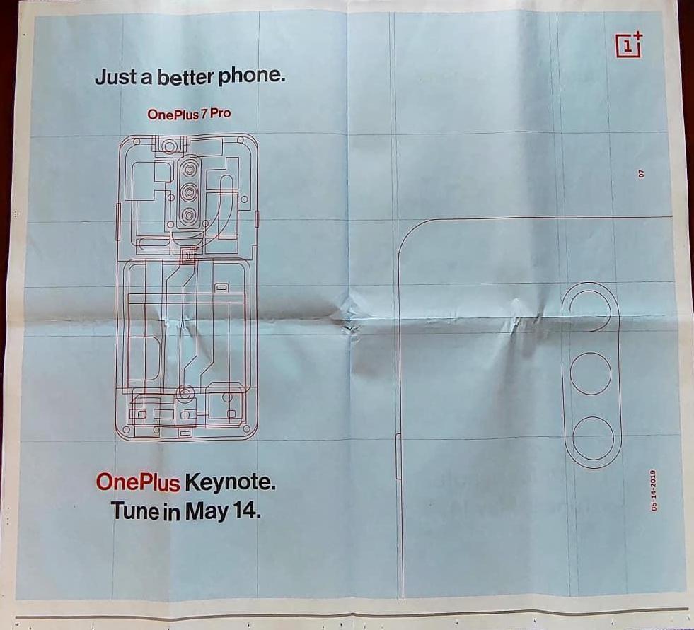 Реклама OnePlus 7 Pro подтверждает наличие тройной основной камеры1