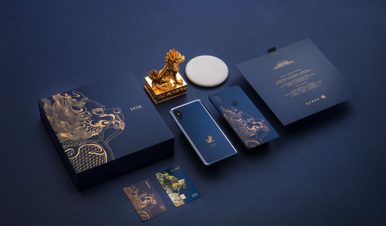 Xiaomi Mi MIX 3 Forbidden City Edition поступит в продажу в декабре2