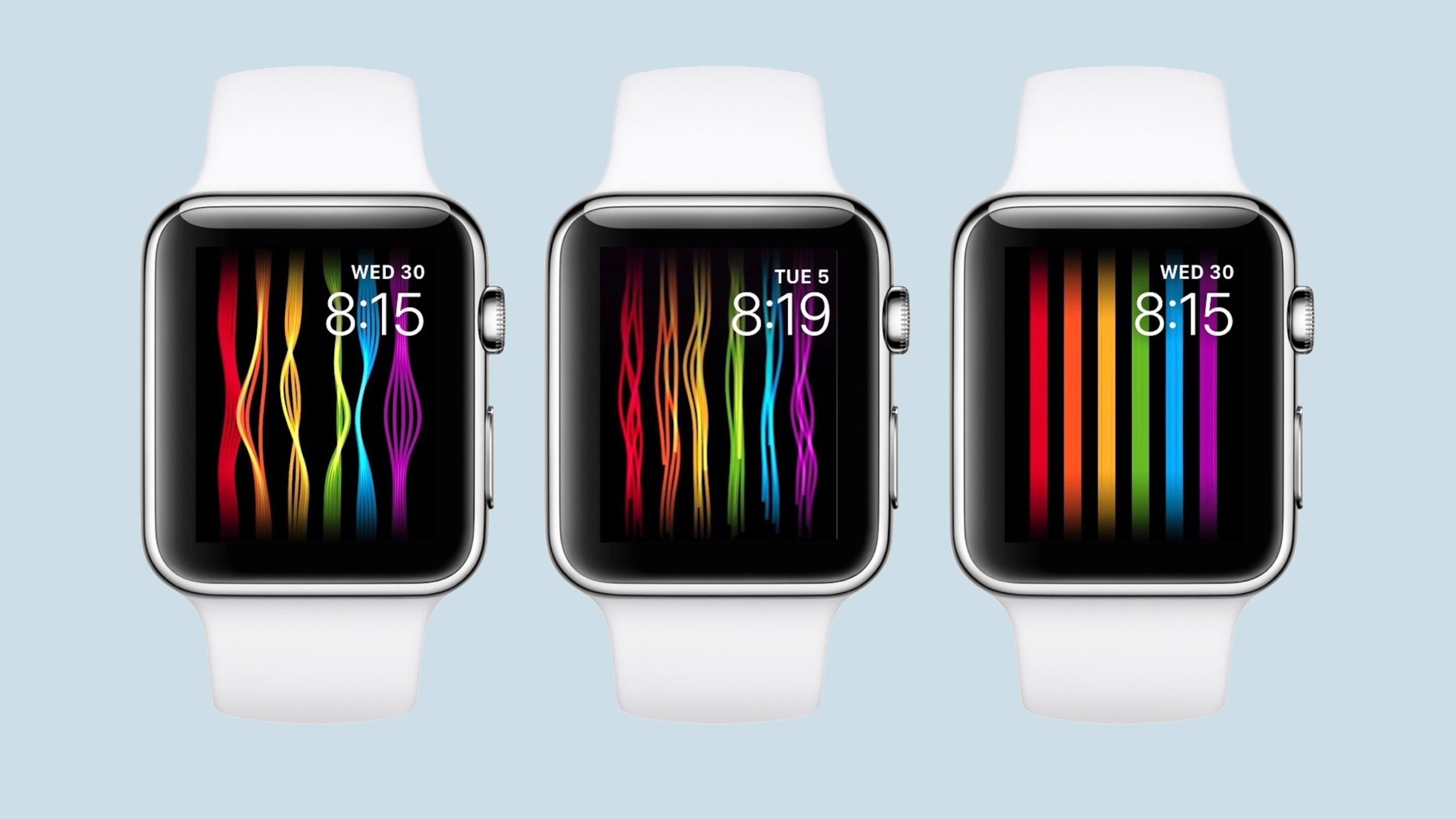 Apple разработала циферблат в поддержку ЛГБТ