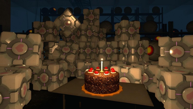 «Сбермаркет» использует в каталоге изображение торта из игры Portal